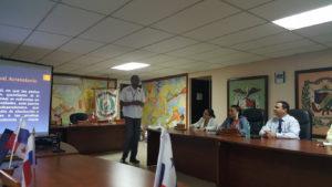 Conversatorio sobre el  Sistema Penal Acusatorio en el distrito de Los Santos