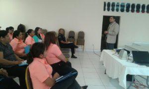 Capacitación sobre el manejo de conflictos en el municipio de Capira