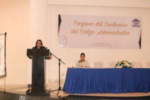 Secretaria general diserta sobre medios electrónicos