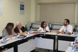 Reunión de coordinación con miembros del proyecto Cooperación Técnica Fondo Chile