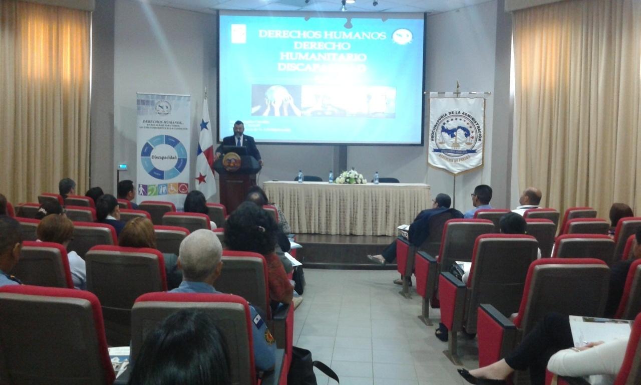 """Seminario: """"Principios básicos sobre Derechos Humanos, Derecho Humanitario y Discapacidad"""""""