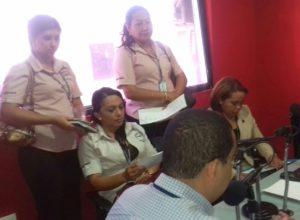 Secretaría Provincial de Los Santos, Visita Radio Mensabé