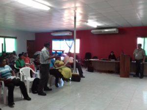 La Secretaria de Asuntos Municipales Participó en Concejo Comarcal