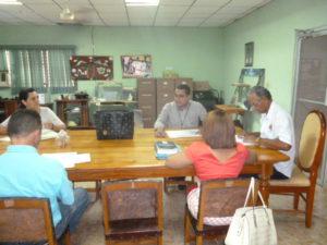 Secretaria Provincial de Los Santos visita Concejos Municipales