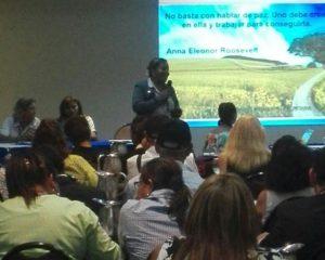 Unidad de Mediación expone en conversatorio ciudadano