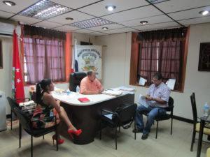 Reunión de coordinación de la primera jornada de sensibilización sobre participación ciudadana