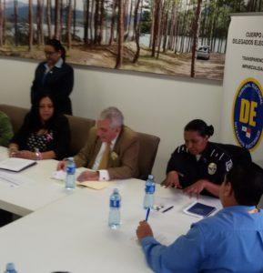 Reuniones de la Comisión de Derechos Humanos I de CONADIS