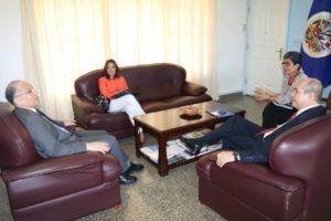 Procurador de la Administración se reúne con el embajador de la OEA