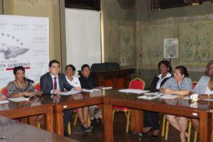 Reunión de integrantes de la mesa técnica del Pacto de Estado por la Justicia