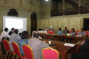 Secretaria general asiste a jornada de trabajo sobre el proyecto de Justicia Comunitaria de Paz