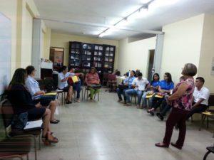 Funcionarios públicos de la provincia de Veraguas se capacitan sobre el tema: trabajo en equipo