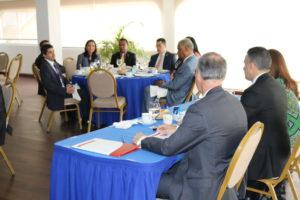 Secretaria general asiste a conversatorio sobre arbitraje