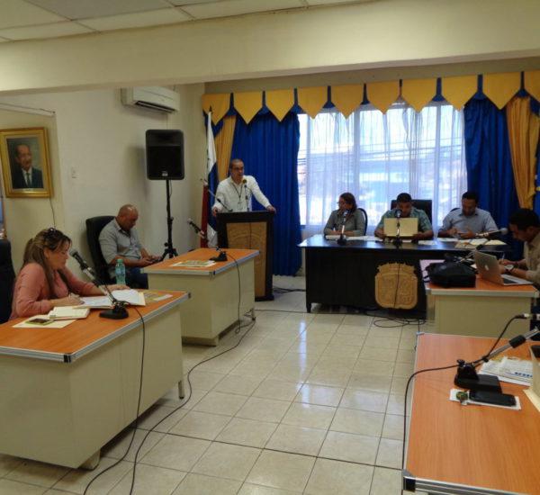 Concejo Municipal del distrito de Chitré brinda Cortesía de Sala a la Secretaría Provincial de Herrera