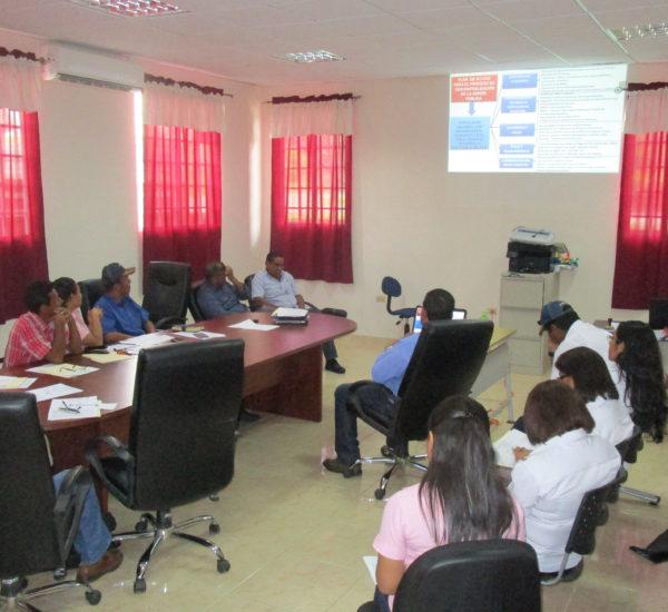 La Secretaria de Asuntos Municipales recibe cortesía de sala en los Municipios de Soná y Montijo