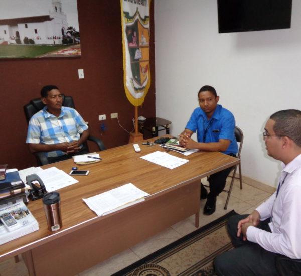 Acercamiento a los alcaldes de la provincia de Herrera