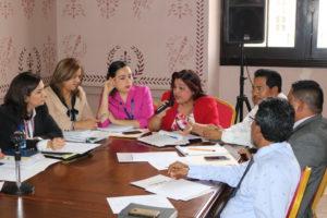 Reunión de la mesa técnica del Pacto de Estado por la Justicia