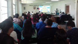 La Secretaría de Asuntos Municipales participó de cortesía de sala  en los  concejos  de los  Municipios de Soná y  Montijo en  Veraguas