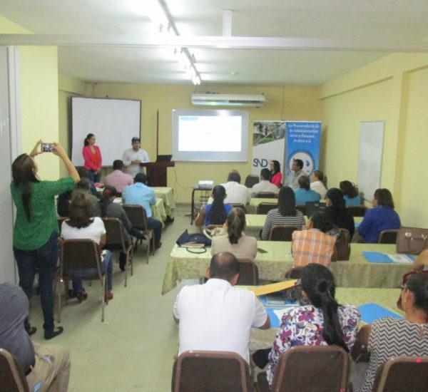 La Secretaría Provincial de Veraguas y la Secretaría de Descentralización coordinan jornada de capacitación