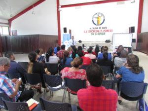 Capacitación sobre Mediación y la Justicia Comunitaria de Paz