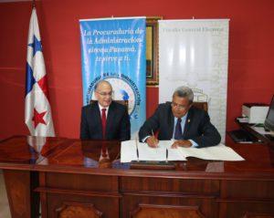 Fiscalía General Electoral firma Carta de Compromiso de la  Red Interinstitucional de Ética Pública