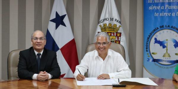 Alcaldía de Panamá se suma a la Red Interinstitucional de Ética Pública