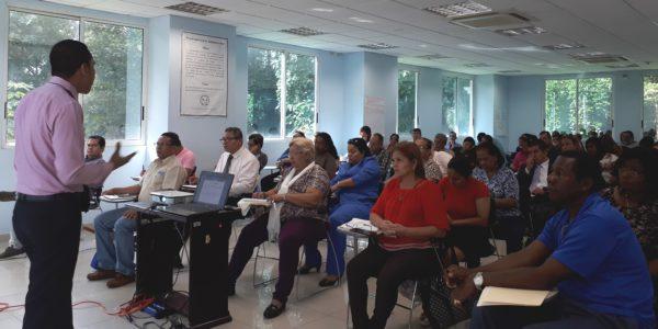 Curso de formación dirigido a los aspirantes al cargo de jueces de paz del primer distrito judicial