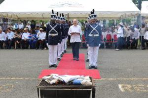 Procuraduría de la Administración participa del acto solemne de Cremación de Banderas