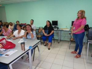 Secretaría Provincial de Herrera capacita en el Centro Educativo Eneida Castillero