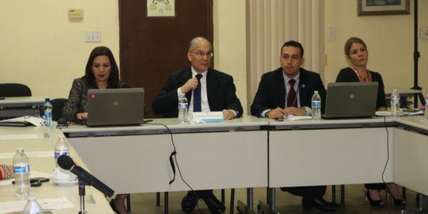 Comisión Interinstitucional rinde informe sobre los avances en materia de Justicia de Paz