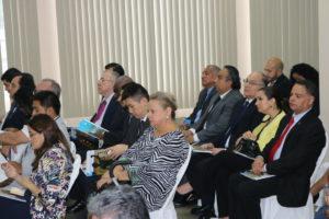 Procurador de la administración asiste al acto de presentación del informe de gestión administrativa