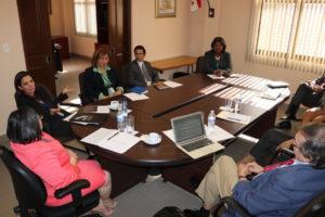 Reunión de coordinación con el secretario general del CLAD