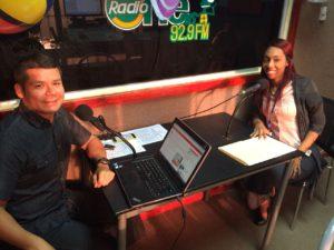 Divulgación de los servicios que brinda el Centro de Mediación de Changuinola en la emisora Radio One  92.9. F.M.