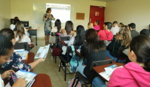 Conversatorio con estudiantes de la Universidad Latina