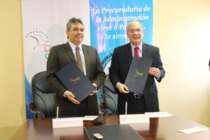 La Procuraduría de la Administración y la Defensoría del Pueblo Firman Convenio Marco de Cooperación