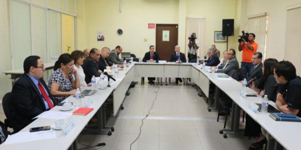 Pacto de Estado por la Justicia brinda cortesía de sala a miembros de la Sociedad Civil