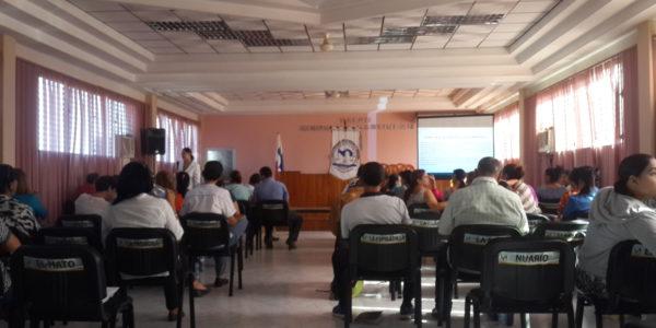 Curso de Formación Inicial para Aspirantes a Juez de Paz en Los Santos