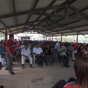 Oficina Regional de Chepo participa en el Congreso General Emberá de Alto Bayano
