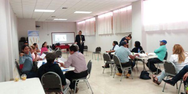 Seminario para servidores públicos del Ministerio de Trabajo y Desarrollo Laboral