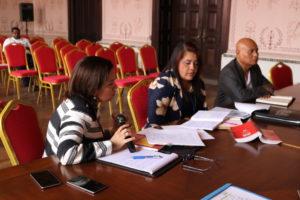 Reunión Interinstitucional de coordinación sobre le ejecución de los Jueces de Paz