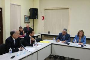 Presentan avances de la Carrera Judicial a miembros de la Comisión de Estado por la Justicia