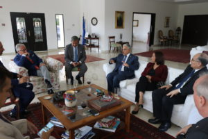 Magistrado Dr. Filippo Patroni Griffi  visita Panamá para dictar conferencia