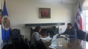 Procuraduría de la Administración se reúne con la Corte Interamericana de Derechos Humanos