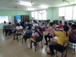 Curso inicial de implementación de la justicia comunitaria de paz en la provincia de Herrera