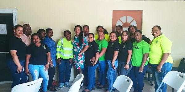 Servidores de la Junta Comunal de Cativá, distrito de Colón se capacitan