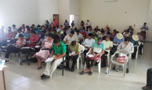 Clausura  del curso inicial para aspirantes a jueces de paz en la provincia de Bocas del Toro y la Comarca Ngâbe Buglé