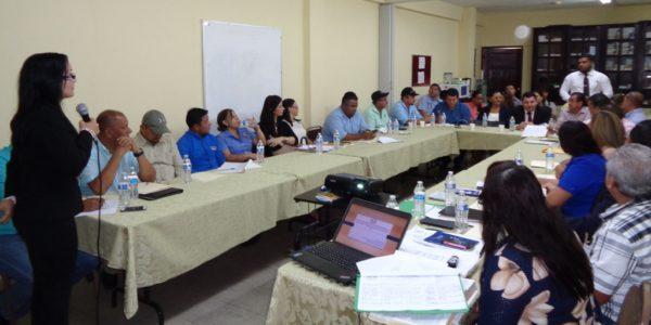 Conversatorio con los alcaldes de la provincia de Veraguas y el distrito de Ñurum