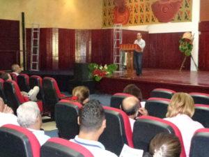 Seminario: Manejo y conservación de los recurso hídricos
