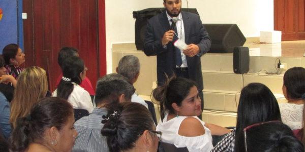 Finalización del curso a aspirantes al cargo de jueces de paz en la  provincial en Chiriquí