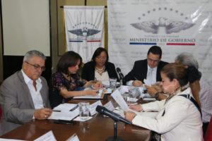 Reunión de coordinación de la Comisión Interinstitucional sobre avances en la implementación de la justicia comunitaria de paz