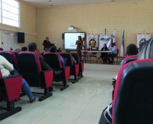 """Seminario: """"Las competencias del juez  de paz en asuntos de tierras y las normas aplicar"""""""